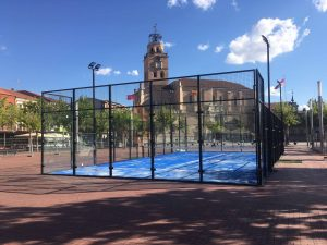 rent portable padel tennis court