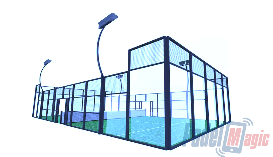 sale of padel tennis court cheap price