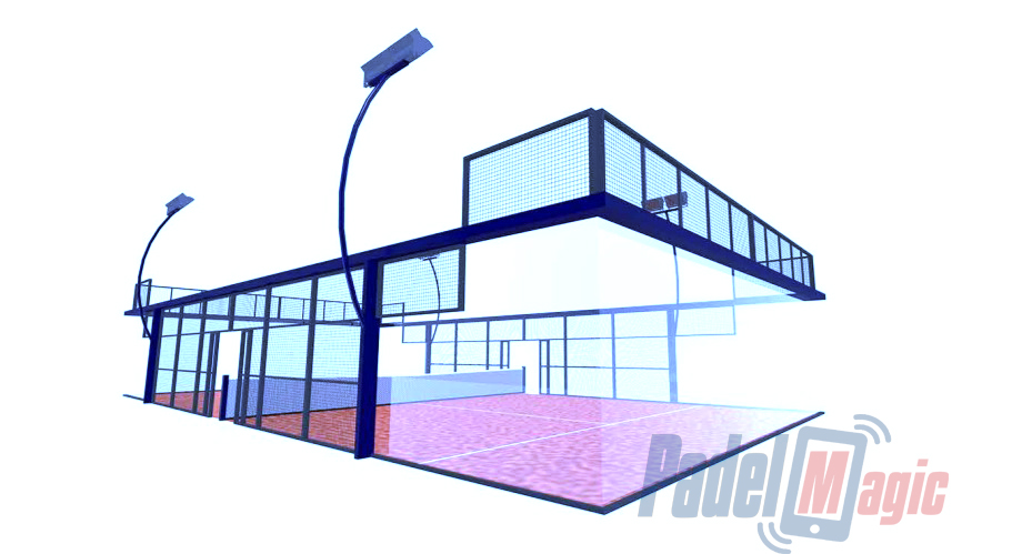 campo de padel professional world padel tour