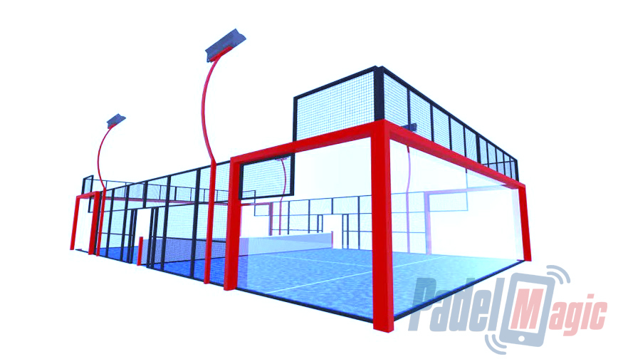 sale of padel tennis court price