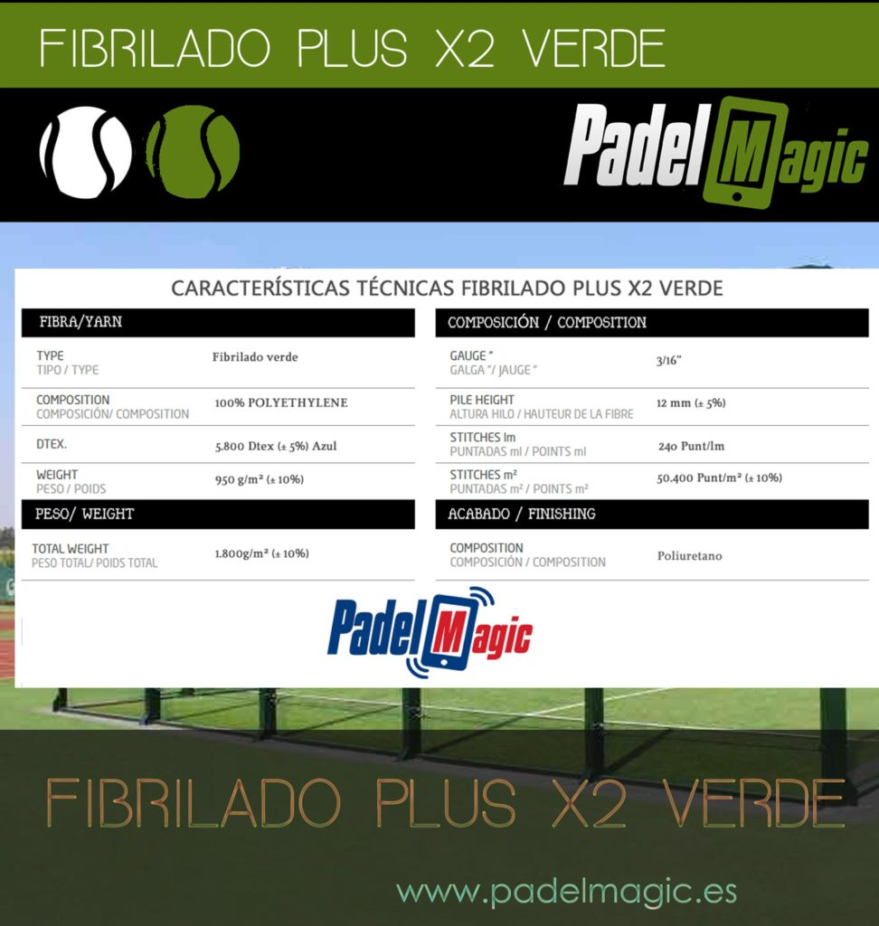 fibrilated artificial grass padel tennis courts