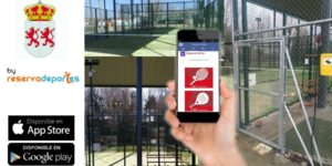 iphone android app for domotic padel booking