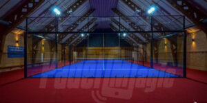 panoramic padel court sweden